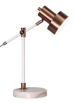 Helene Arc Table Lamp (H46cm x W20cm