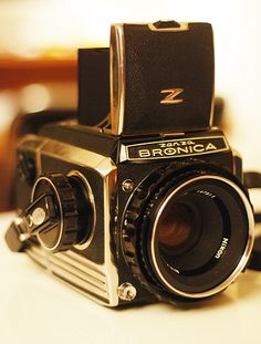 Zenza BRONICA S2A by noiselot, via Flickr