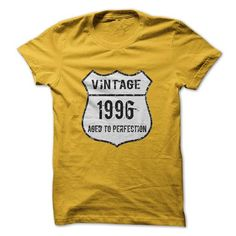 Made In 1996 Age To Perfection T-Shirts, Hoodies (19$ ==► Shopping Now to order this Shirt!)