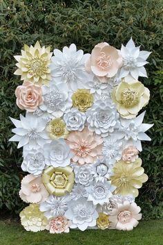Papel de telón de fondo de flor para bodas y por WPaperFlowerDesign