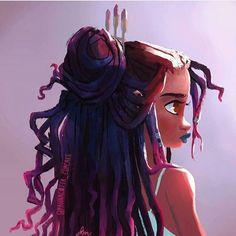 Hair Drawing Afro Illustrations 35 New Ideas Black Love Art, Black Girl Art, Black Girl Magic, Natural Hair Art, Pelo Natural, Natural Hair Styles, Evvi Art, Coiffure Hair, Art Et Design