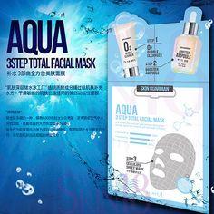 Skin Guardian 3 Step Aqua Total Facial Mask