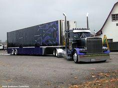 Pickett Brothers custom race hauler in Marysville, Washington