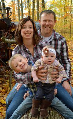 Family - Fall leaves