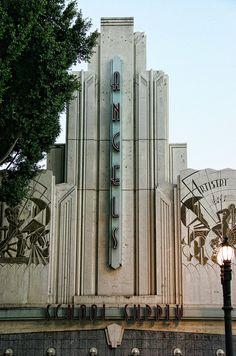Angels School Supply building, Pasadena, California. #artdeco #architecture