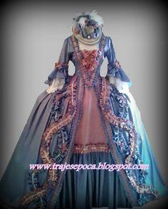 Vestido estilo barroco S:XVIII   tallas 36-40     500 euros.  gelpep@gmail.com