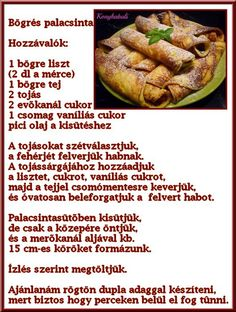 Hungarian Food, Hungarian Recipes, Cook Books, Pancakes, Dishes, Vegetables, Cooking, Kitchen, Hungarian Cuisine