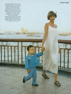 "The Terrier and Lobster: ""Eastern Light"": Linda Evangelista in Shanghai by Arthur Elgort for US Vogue"