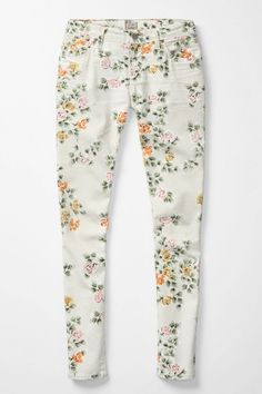 Anthropologie pants from Citizens of Humanity. Floral Thompson. Pair with pink flowy blouse!