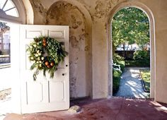 Every hall, wall and door is decked in #Charleston! #BelmondPostcards