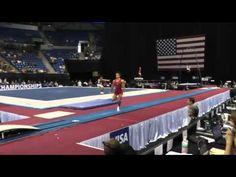 20-year-old Sam Mikulak – Kaz double at 2012 visa championships prelims. SICK!!!!