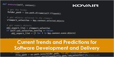 The Industry which makes a quick change in technology and innovation world is IT Software Development. To remain updated check out current trends and predictions for Software Development and Delivery. Agile Software Development, In This World, Innovation, Self, Delivery, Technology, Trends, Blog, Change