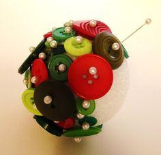 Covert Chaos: Button Ornament Tutorial