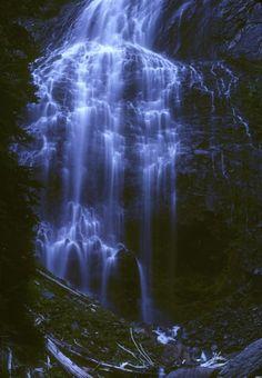 Spray Falls, Mt Rainier National Park, Washington