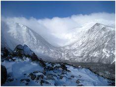 Mount Washington over Tuckermans Ravine, White Mountains, New Hampshire