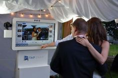 Unlike traditional photo booths, you don't have to cram into a box with smelly old curtains. Tapsnap is high end, first class all the way. Our...