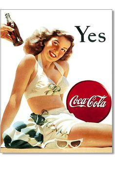 That is always the answer when offered a Coke lol