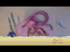 How To make a Dog Leash in 5 min with PP Multi Cord (multilijn) - YouTube