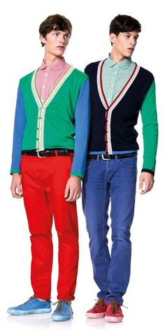 I say yes to the men who are afraid-to- dress-out-of-their-comfort-zones-yet- want-to-look-trendy, even YOU can colorblock!