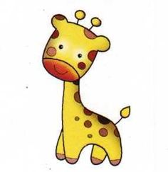 Imprimir imagenes animales infantiles Spanish Lessons For Kids, 2 Kind, Baby Painting, Precious Moments Figurines, Cute Giraffe, Baby Education, Baby Scrapbook, Zebras, Cute Illustration