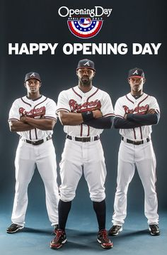 The countdown is finally over! Happy Opening Day Braves Country!