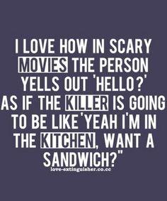 Sure, I'll take a sandwich.