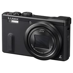 Buy Panasonic Lumix DMC-TZ60 Digital Camera, HD 1080p, 18.1MP, 30x Optical Zoom, Wi-Fi, NFC, GPS & GLONASS, EVF, 3 Screen Online at johnlewis.com