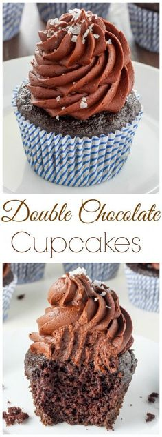 Classic Double Chocolate Cupcakes are soft, fluffy, and sure favorite! This easy recipe is our go-to!
