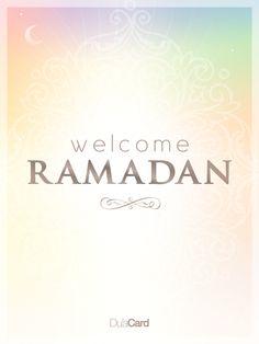 Ramadan Mubarak! #Ramadan2014