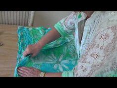 Técnica de servilleta sobre vidrio - YouTube