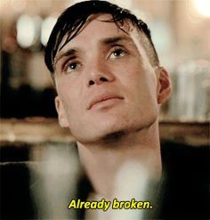 peaky blinders - season 1, thank you Cillian Murphy for being amazing and beautiful as Tommy Shelby.