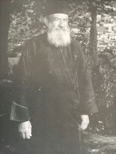 The priest of village Ayious in Cyprus pater Georgo
