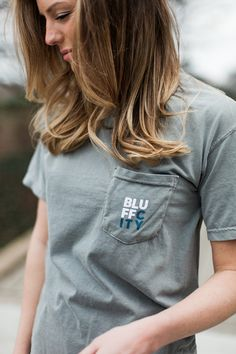Bluff City Memphis Comfort Colors Short Sleeve Women's Gameday