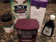 Creamy Hot Chocolate! (Instead of using Splenda, use liquid stevia. There are tons of flavors!)