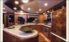 Ocean Alexander 74'-Galley-Custom Yacht Interior Design-Destry Darr Designs