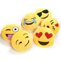 Cute Creative Emoji Pillow Soft Stuffed Plush Toy Doll Round Emoticon Cushion Home Decor Sofa Bed Throw Smiley Face Pillow Cool Emoji, Funny Emoji, Sofa Bed Throws, Pillow Box, Kids Pillows, Home Textile, Smiley, Sewing Projects, Crochet Projects