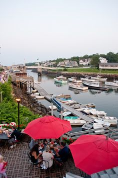 Barnacle Billy's, Ogunquit, ME. I used to eat here with my family growing up. Marginal Way!