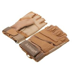 Motorcycle Riding Tactical Military Airsoft Half Finger Gloves