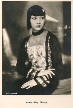 Anna May Wong, first Chinese-American movie star, 1930s