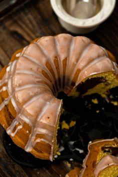 Babka cytrynowo - kakaowa