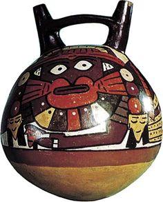 Nazca polychrome vessel. Pinned by Gilbert de Jong.