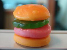 Gummy Hamburger.. I remember these :)
