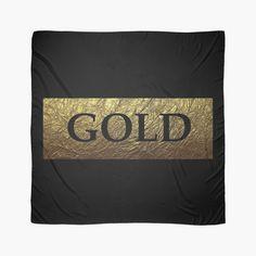 """""""FG-Z1(GOLD)"""" Scarves by fg-z1   Redbubble"""