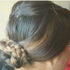 Updo Prom Hairstyles, Updos, Dreadlocks, Hair Styles, Beauty, Up Dos, Hair Plait Styles, Hair Makeup, Prom Hair