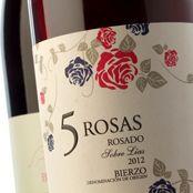 5 Rosas Mencia 2012 de Losada Vinos de FincaGastroBierzo #vinosmaximum #taninotanino