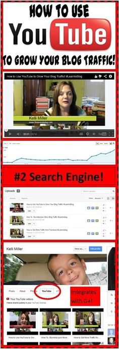 Blogging Basics: How to Use YouTube to Grow Your Blog Traffic #learntoblog