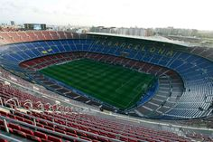 General view of the Nou Camp stadium Credit: Action Images / Carl Recine