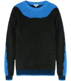 Kenzo Color-Block Wool-Blend Sweater Sweater Shop, Jumper, Fall Sweaters, 8edbb88810bc