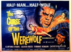 Curse of the Werewolf. UK quad poster. Courtesy of hammerhorrorposters.com