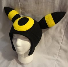 Pokemon Umbreon sombrero por SmileAndLead en Etsy